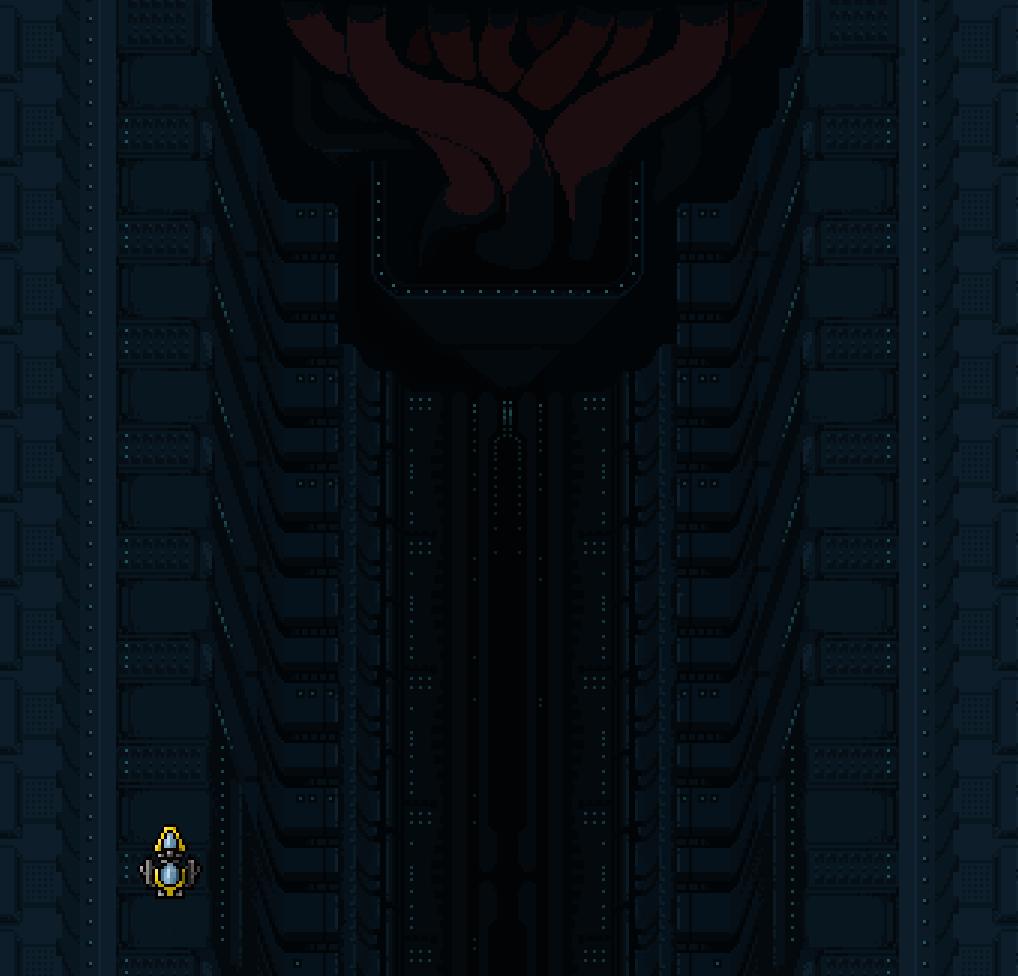 level teaser Dreadstar shmup